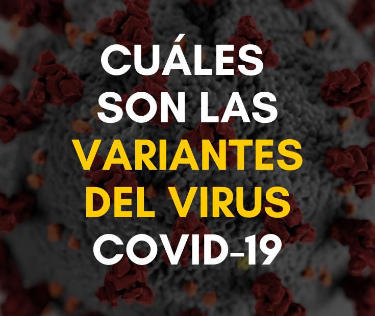 Variantes del virus